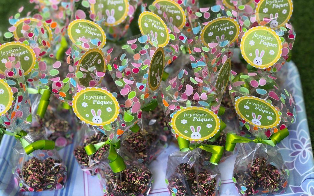Vacances de Pâques : réalisation de truffes et de Mug cake